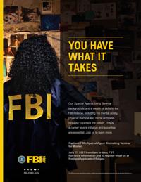 Special Agent Recruiting Seminar for Women