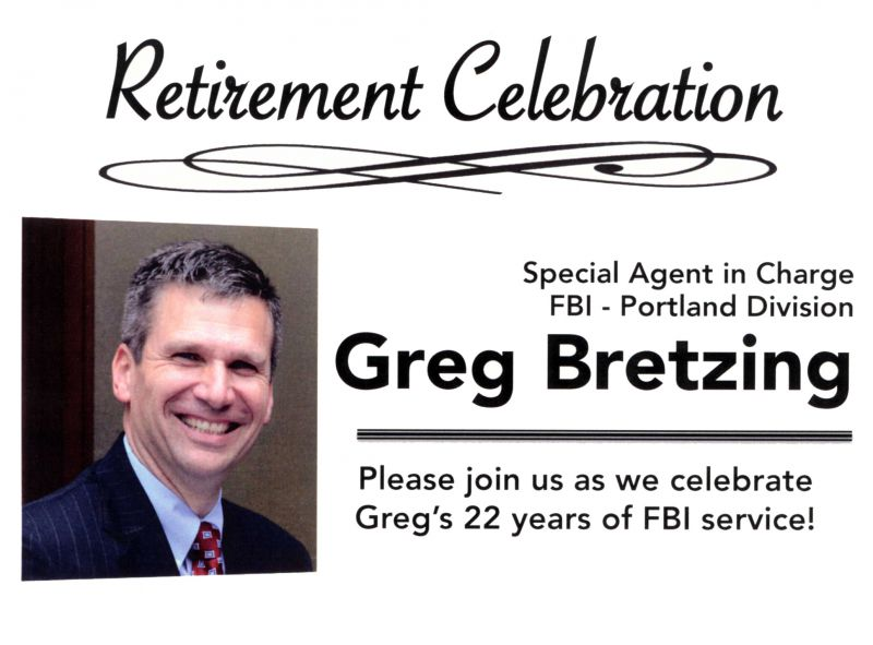 Greg Bretzing Retirement Celebration